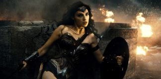 Behind the Scenes Wonder Woman shots