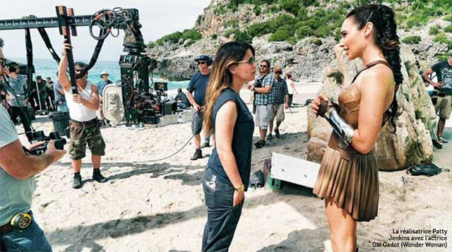 Behind the Scenes Wonder Woman Shots from French Magazine