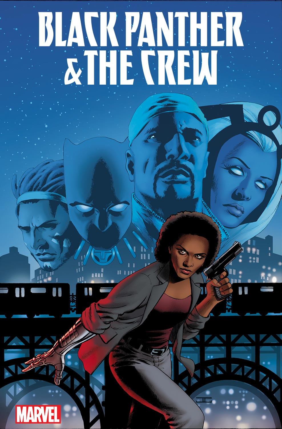 Marvel Comics Announces BLACK PANTHER & THE CREW