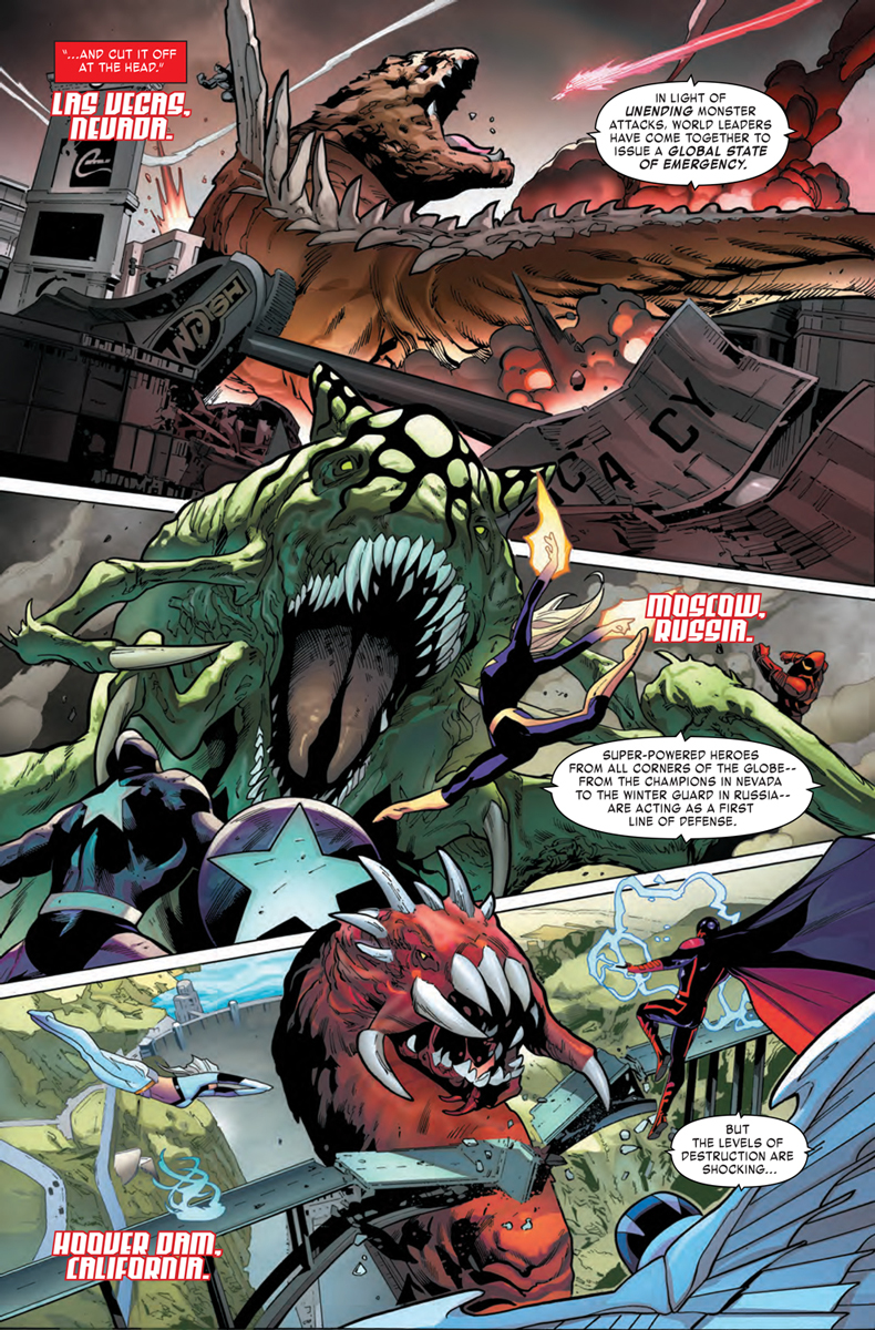 Monster Mayhem in the Mighty Marvel Manner – Your New Look at MONSTERS UNLEASHED #2!