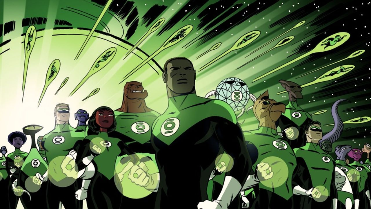 Image result for hal jordan and john stewart