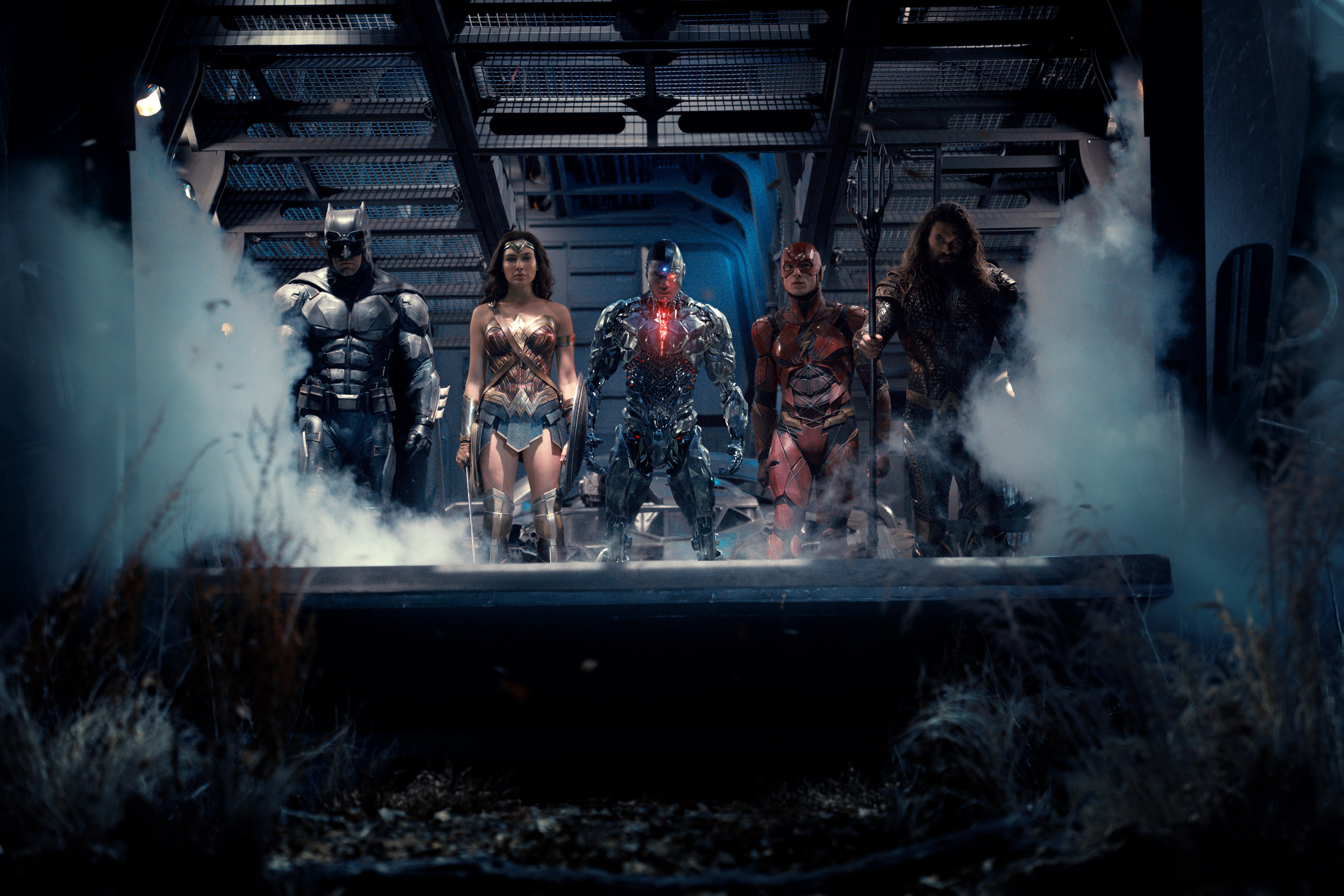 Here's a Better Look at That Brand-New Justice League Image