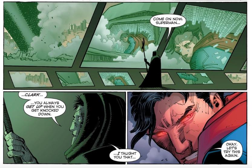 Decoding Geoff Johns' New Year's DC Comics Tweets