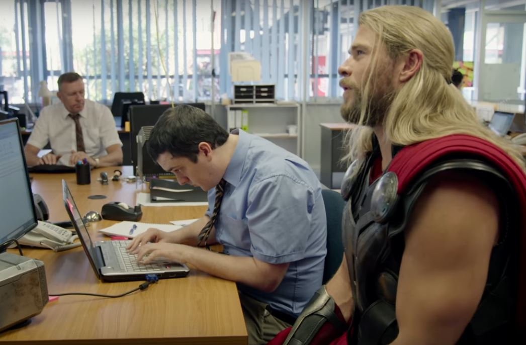 Thor and Daryl Mockumentary Part 2 Debuts on Doctor Strange Blu-ray