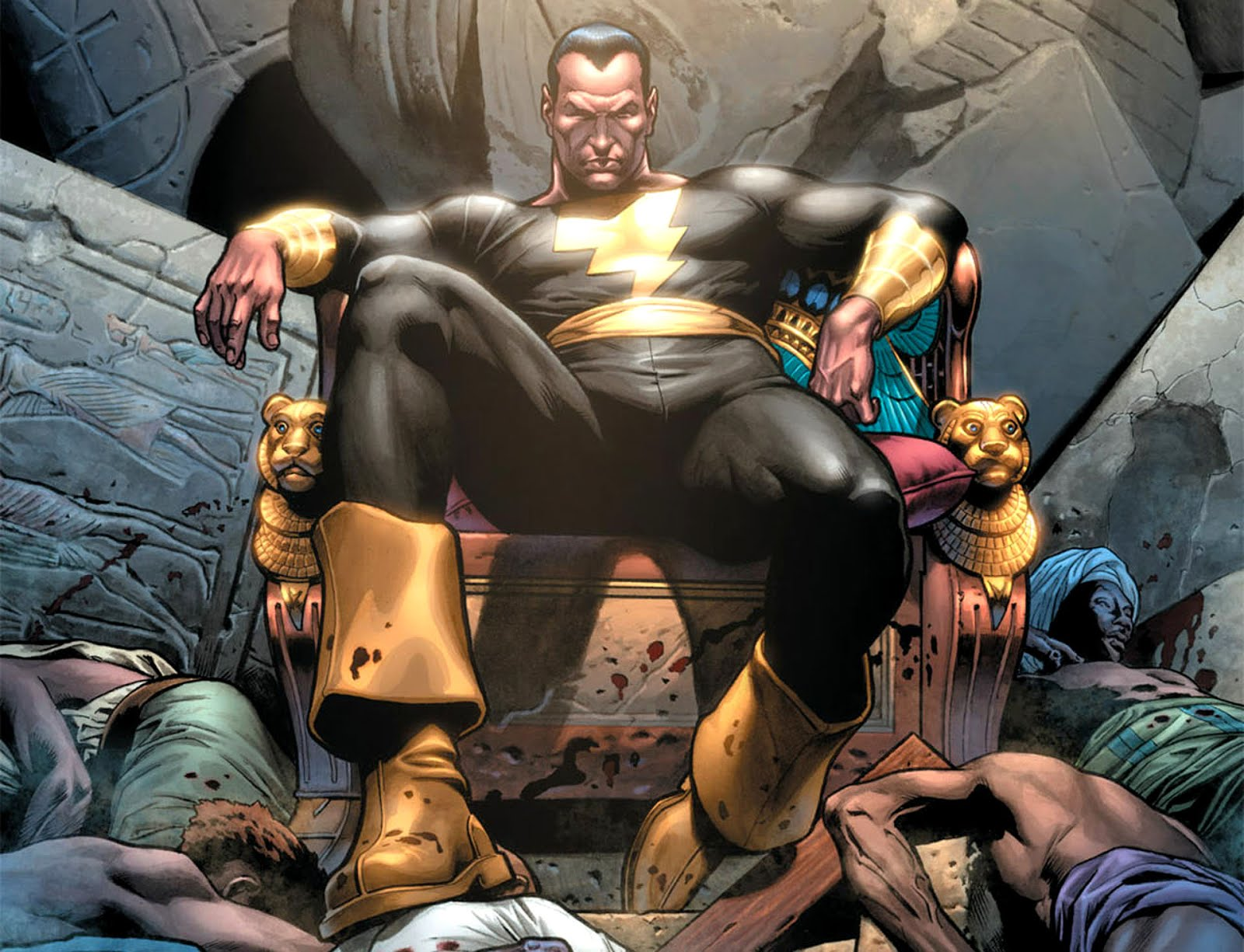Who Is Black Adam Lets Talk About Dwayne Johnsons DC Character