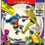 Batman fights alien