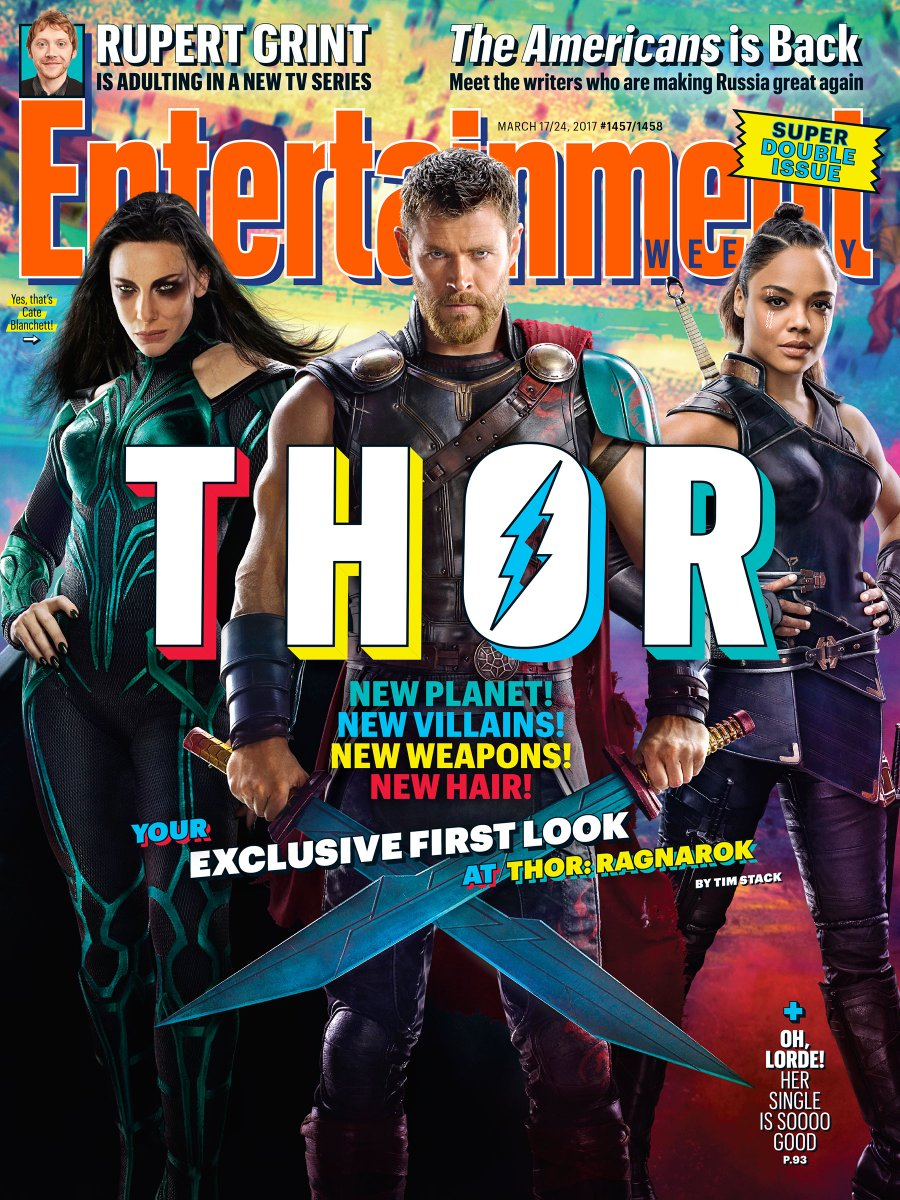 First Look at Thor, Hela and Valkyrie from THOR: RAGNAROK!