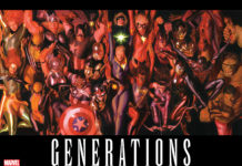 The Biggest and Best Heroes Team-up for a Titanic Tale Marvel Comics Presents GENERATIONS