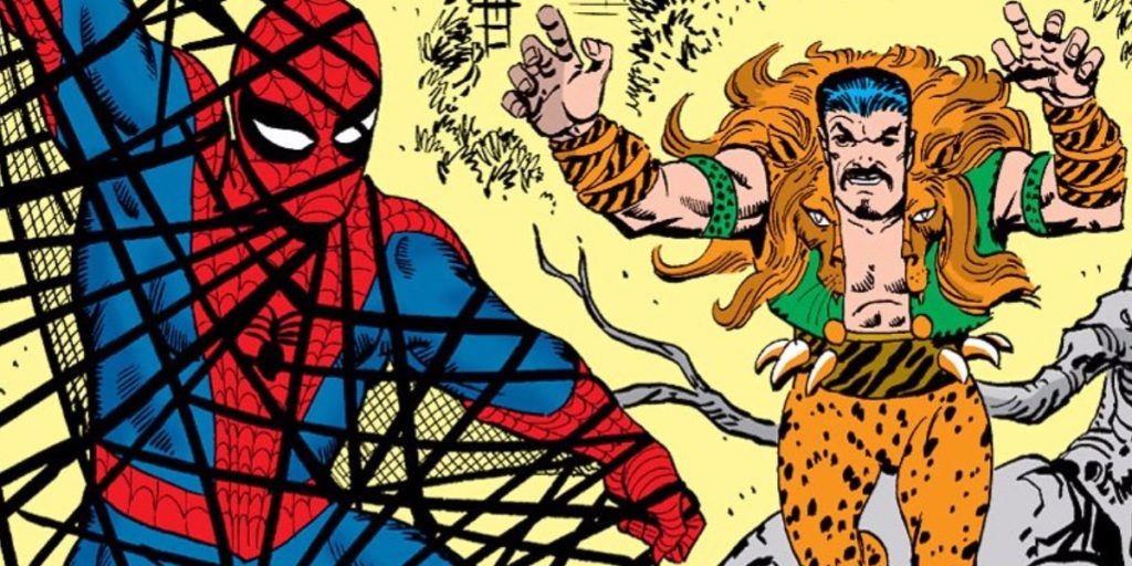 spiderman and kraven