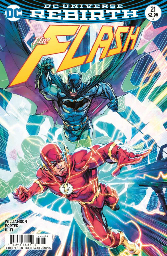 Batman #21 and The Flash #21 (The Button) Review: The Wait Is Over!