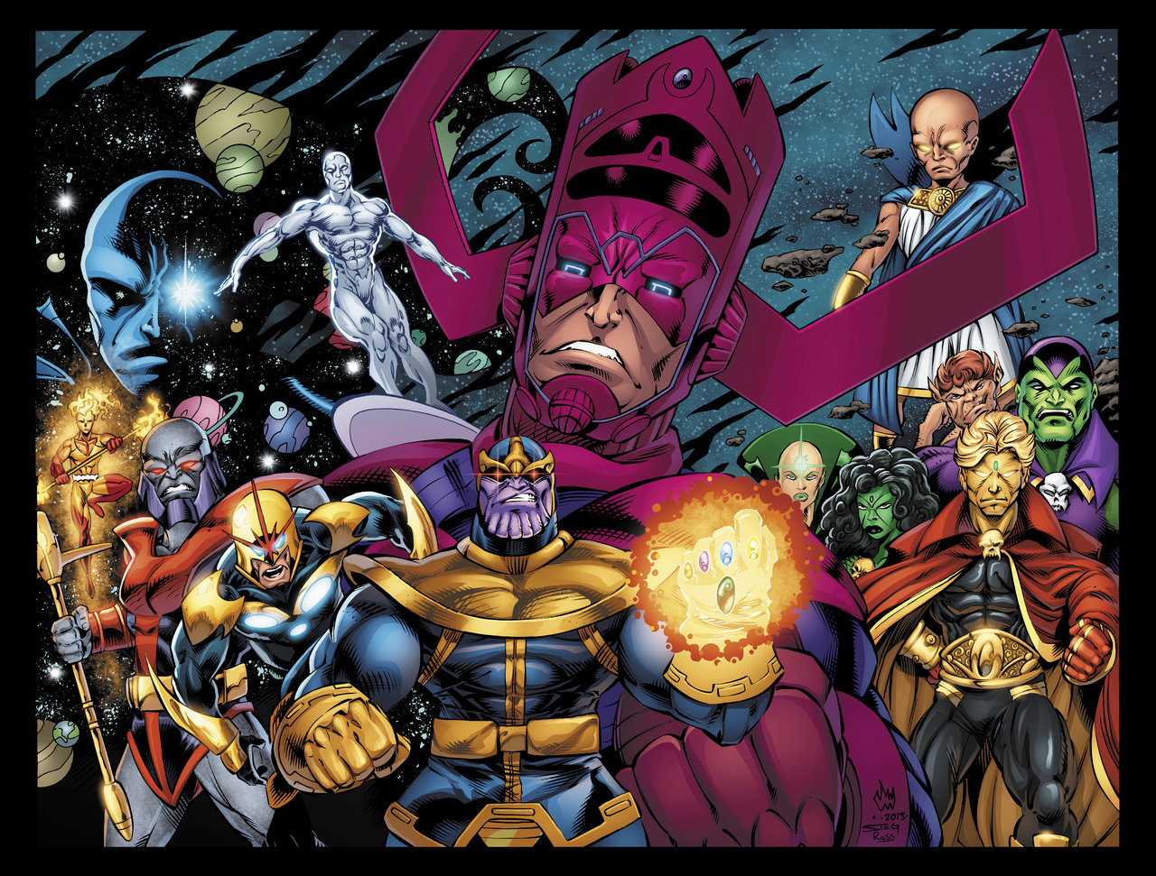 Image result for marvel cosmic