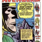 Avengers 1 title page