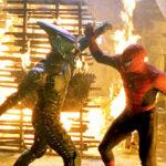 Spider-Man Green Goblin fight
