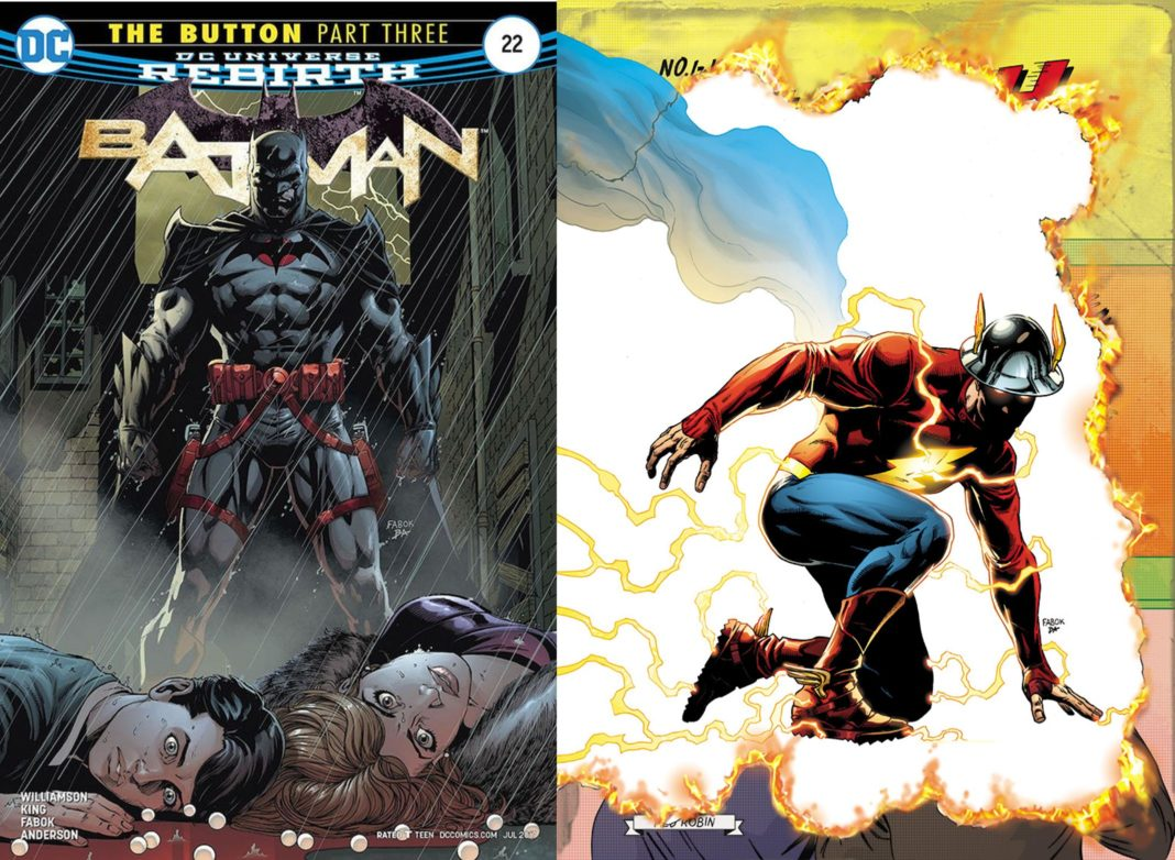 Batman #22 and The Flash #22: The Button Pt. 2 Review -- Deja Vu?