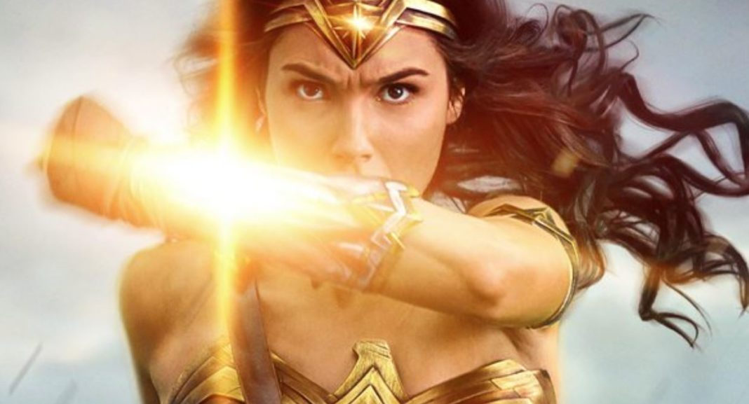 Diana Deflects the Sun in Stunning New Wonder Woman Poster