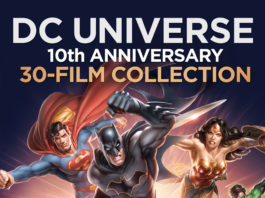Warner Brothers Announces DC Universe Original Movies: 10th Anniversary Collection