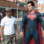 Zack Snyder and Henry Cavill in Man Of Steel
