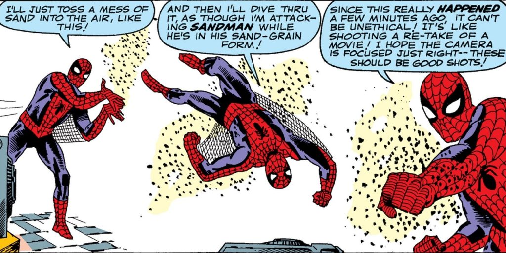 The Watcher Claims this Came from Amazing Spider-Man #4.