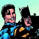 Batman/Superman selfie