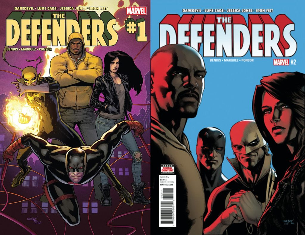 The Defenders Issues 1 and 2 Review: Takin' It to the Streets