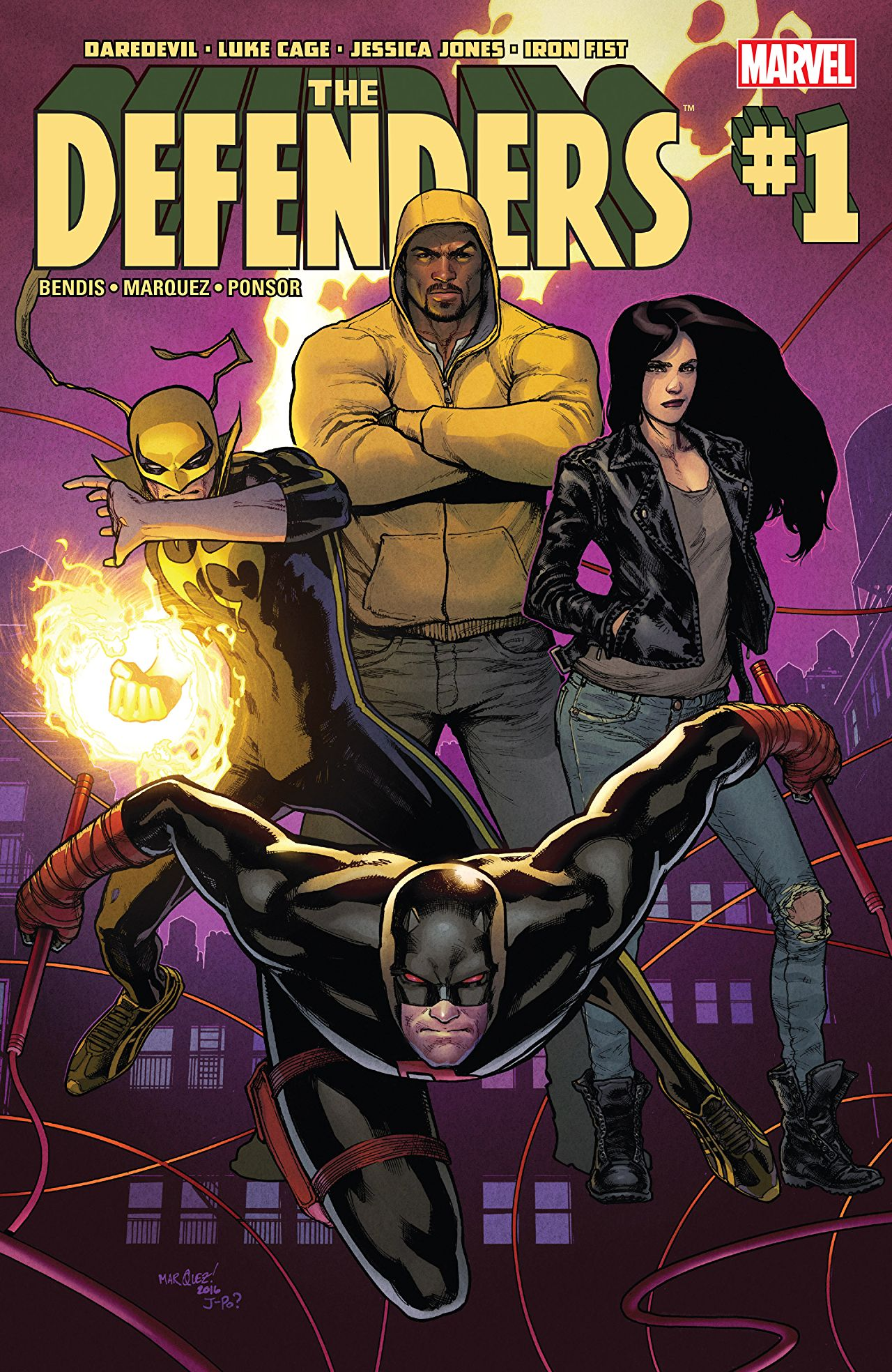Keith's Recommended Reading: Marvel's The Defenders