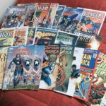 My comics I bought on Free Comic Book Day